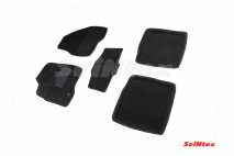 3D коврики для Ford Explorer V 2010-2015 (широкая площадка под левую ногу)