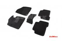 3D коврики для Hyundai Santa Fe II рестайлинг 2010-2012