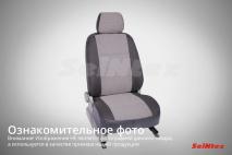 Чехлы из Жаккард для Renault Logan 14 40/60 (без AirBag) 2014-н.в.