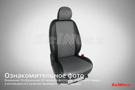 Чехлы из экокожи Ромб для Lada Vesta 40/60 2015-