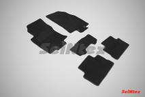 Ворсовые коврики LUX для Nissan Qashqai II (российская сборка) 2016-