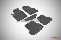 Резиновые коврики с высоким бортом для Ford Focus III 2015-н.в.