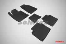 Резиновые коврики с высоким бортом для KIA Optima IV 2016-н.в.