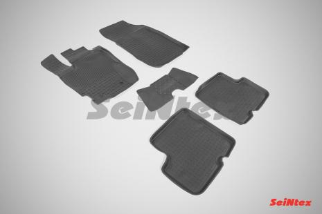 Резиновые коврики с высоким бортом для Renault Duster 2015-н.в.