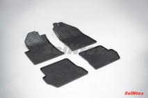 Резиновые коврики Сетка для Ford Fiesta 2001-2008