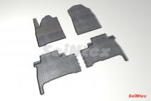 Резиновые коврики Сетка для Toyota Land Cruiser 200 2012-н.в.